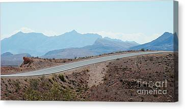 Running Along The Edge Canvas Print