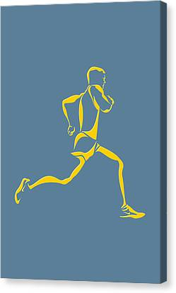 Running Runner13 Canvas Print