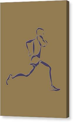 Running Runner8 Canvas Print by Joe Hamilton