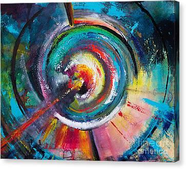 Ruptured Core Canvas Print by Robin Kirkpatrick