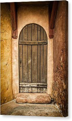 Rural Arch Door Canvas Print