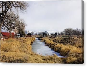 Rural Colorado Canvas Print by Marta Alfred