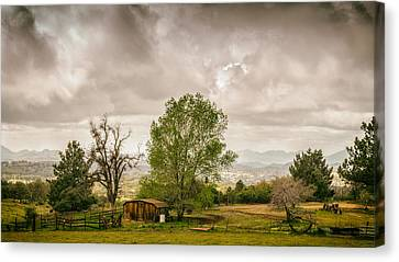 Rural East County Canvas Print