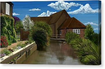 Rural Image Canvas Print by Kate Black