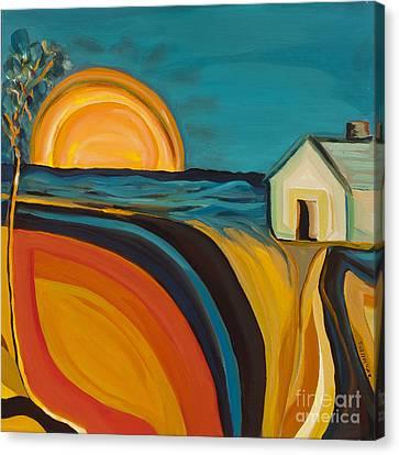 Rural Oasis  Canvas Print