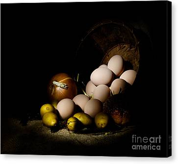 Rural Produce Canvas Print by Cecil Fuselier