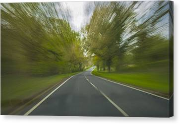Rural Road West Sussex England Canvas Print