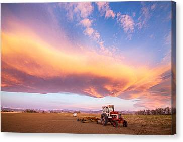 Rural Turbo Country Sky Canvas Print by James BO  Insogna