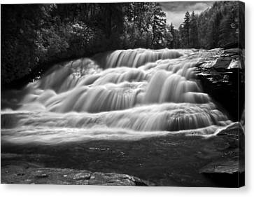 Canvas Print featuring the photograph Rush by David Stine