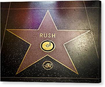Rush Has A Star Canvas Print