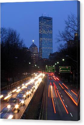 Rush Hour Canvas Print by Juergen Roth
