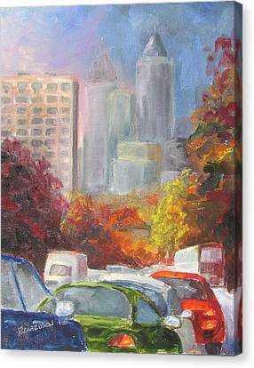Rush Hour Canvas Print by Susan Richardson
