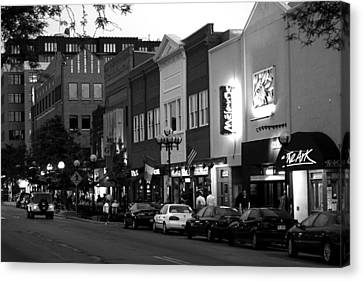 Rush Street Canvas Print by Pat Cook