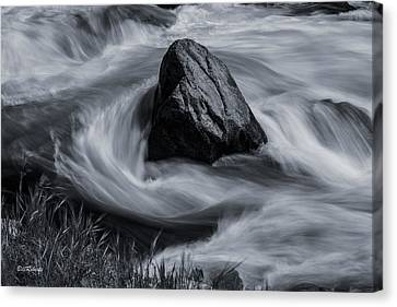 Merced River Canvas Print by Bill Roberts