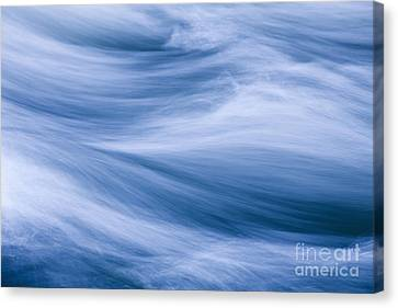 Rushing River Canvas Print