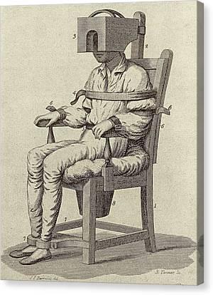Rush's Tranquiliser Chair Canvas Print