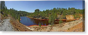Russed Colored Waters Near Mine, Pena Canvas Print by Panoramic Images