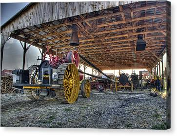 Russell At The Saw Mill Canvas Print
