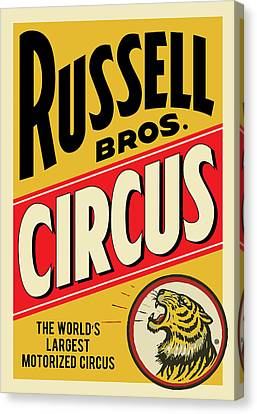 Russell Circus Canvas Print by Gary Grayson