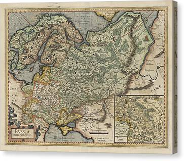Russia Canvas Print by British Library