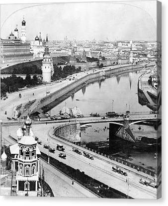 Russia Moscow, C1902 Canvas Print by Granger