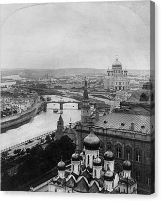 Russia Moscow, C1903 Canvas Print by Granger
