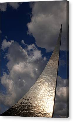 Openair Canvas Print - Russia, Moscow, Cosmos Space Monument � by Tips Images