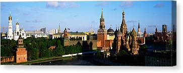 Russia, Moscow, Red Square Canvas Print by Panoramic Images