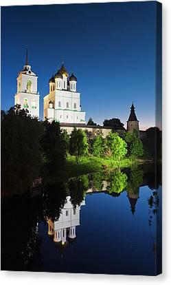 Russia, Pskovskaya Oblast, Pskov, Pskov Canvas Print