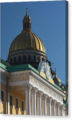 Russia, Saint Petersburg, Center, Saint Canvas Print