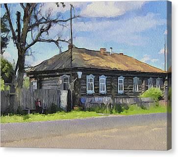 Russia Village 2 Canvas Print by Yury Malkov