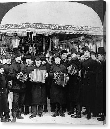 Russian Musicians, C1919 Canvas Print by Granger