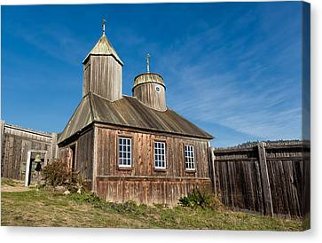 Russian Orthodox Chapel At Fort Ross Canvas Print