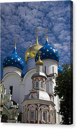 Russian Orthodox Monastery In Zagorsk Canvas Print
