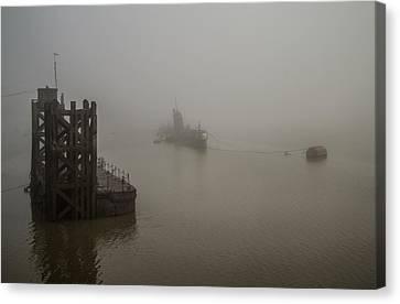 Canvas Print - Russian Sub In Fog by Dawn OConnor