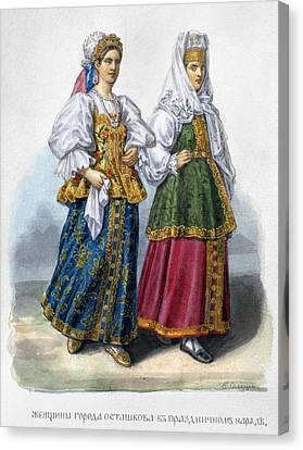 Russian Women Canvas Print by Granger