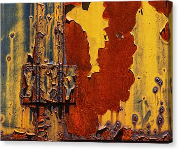 Rust Abstract Canvas Print by Jack Zulli