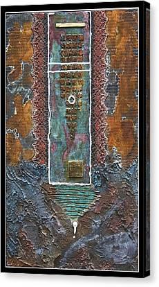 Rust-art 02 Canvas Print by Gertrude Scheffler