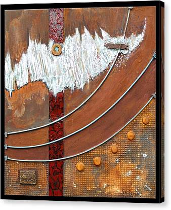 Rust Art 04 Canvas Print by Gertrude Scheffler