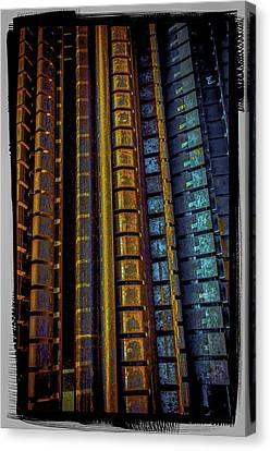 Canvas Print featuring the photograph Rust Condos by Craig Perry-Ollila