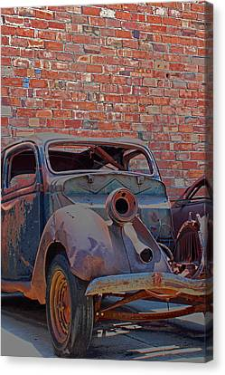 Canvas Print featuring the photograph Rust In Goodland by Lynn Sprowl