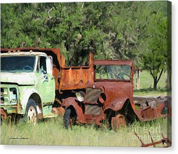 Rust In Peace No. 1 Canvas Print