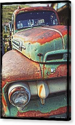 Rust Or Bust Canvas Print by Justin  Curry