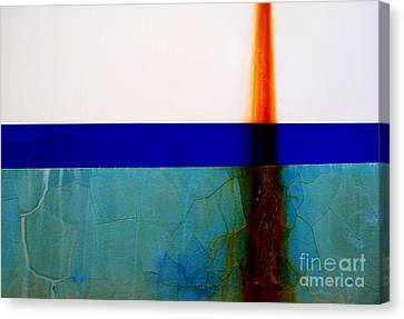 Rust Profile 3 Canvas Print by Robert Riordan