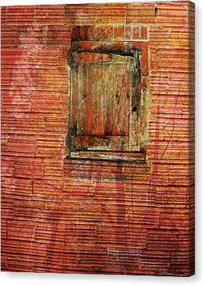 Rust Wall Canvas Print by Lyn  Perry
