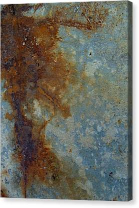 Rusted Abstract 1 Canvas Print