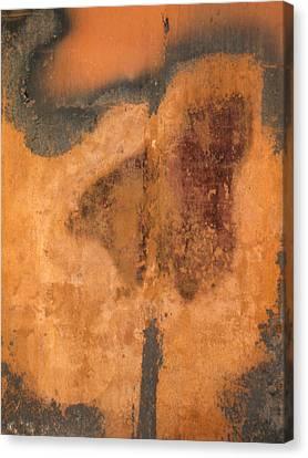 Rusted Metal Abstract Canvas Print by Ben Kotyuk
