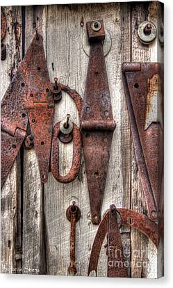 Rusted Past Canvas Print by Benanne Stiens