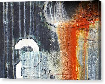 Rusted Waterfall Canvas Print by Jani Freimann