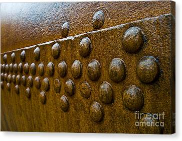 Rusted Whaling Machinery Canvas Print by John Shaw